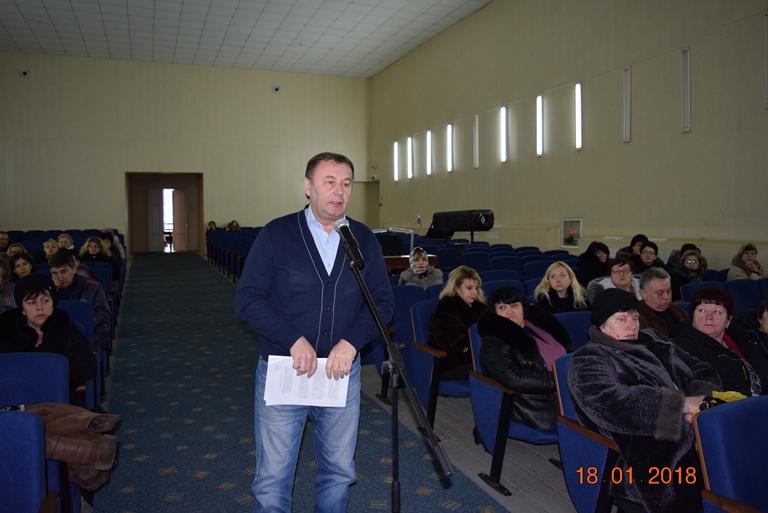 В Джанкое состоялась встреча заместителя министра образования, науки и молодежи Республики Крым с работниками образования