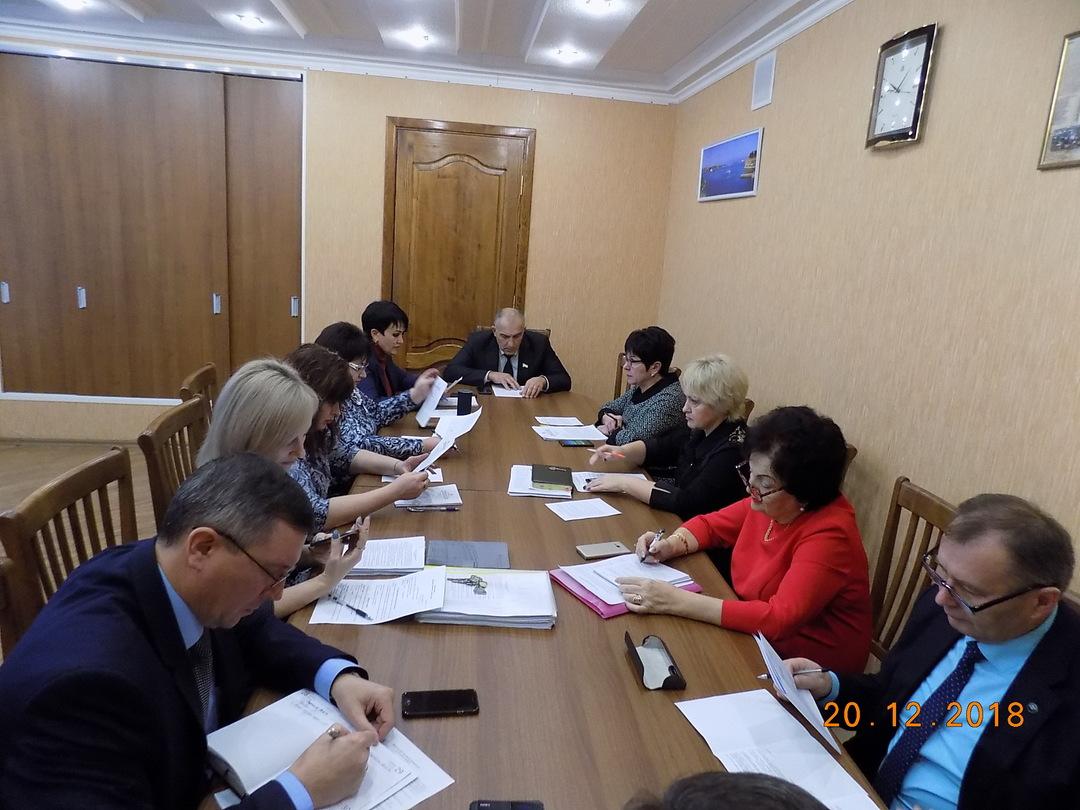Джанкой:  Состоялось заседание Президиума Джанкойского городского совета